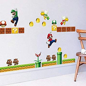 Other - Super Mario Build a scene peel and stick decals